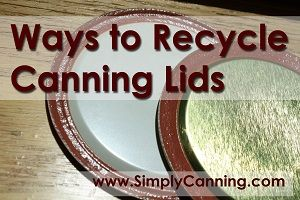 Ideas for recycling those used canning jar lids. http://www.simplycanning.com/recycle-canning-jar-lids.html