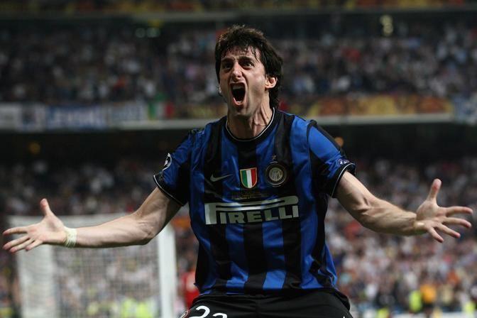 #Milito #joy #goal #gol exulting #football Champions League Final #finale #bayern #inter