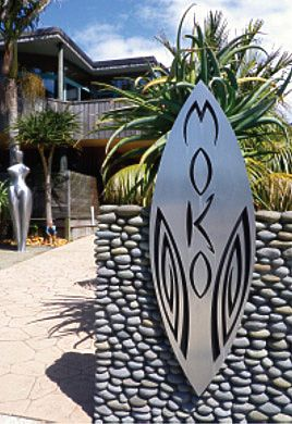 MOKO ART SPACE - Hotwater Beach, NZ. beautiful arts n crafts shop, tino ataahua!