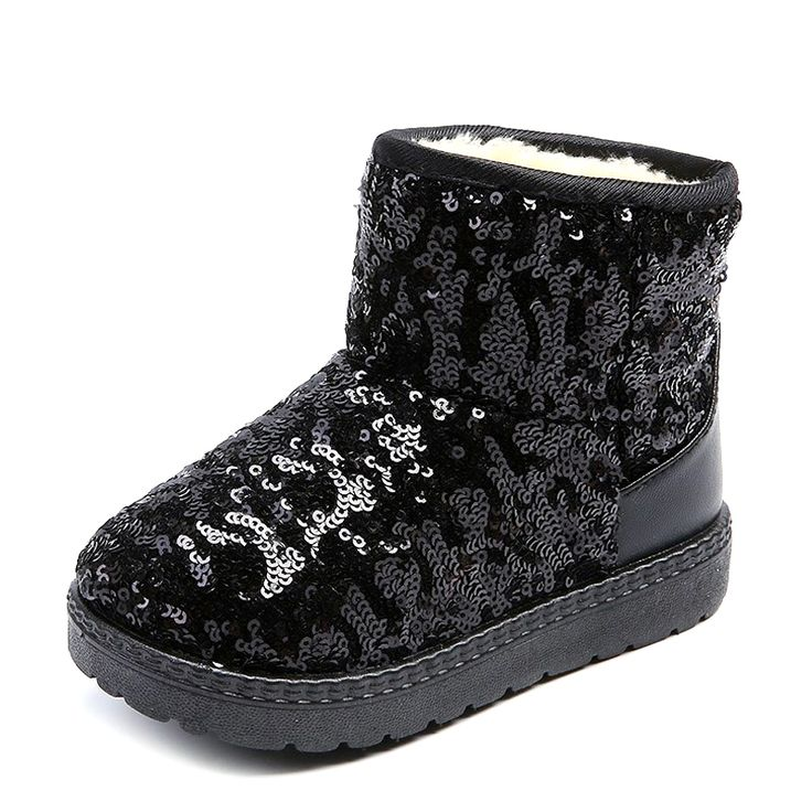 >> Click to Buy << Winter Warmer Baby Shoes Boys Girls Boots Children Snow Boots Cotton Lined Kids Soft Ankle Boots Girl Booties Princess Shoes #Affiliate