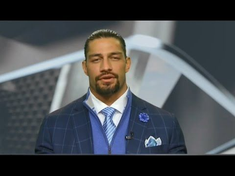 Roman Reigns on College Football Live 2017