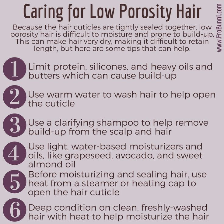 High Porosity On Permed Hair Low On Natural