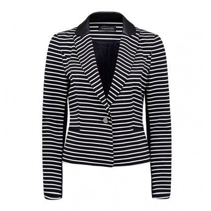 Fae Striped Blazer // Forever New