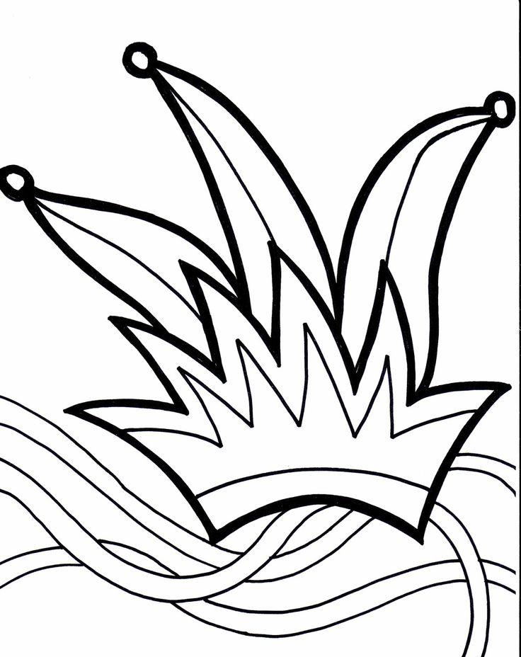 Mardi Gras Coloring Sheets Free | mardi gras mural | Pinterest ...