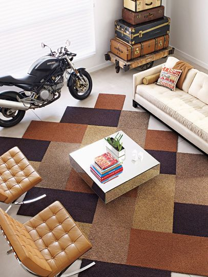 Nice Design And Template Color Palette With Flor Carpet Tiles