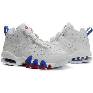 www.asneakers4u.com Charles Barkley Shoes Nike Air Max2 CB 94 White/Blue
