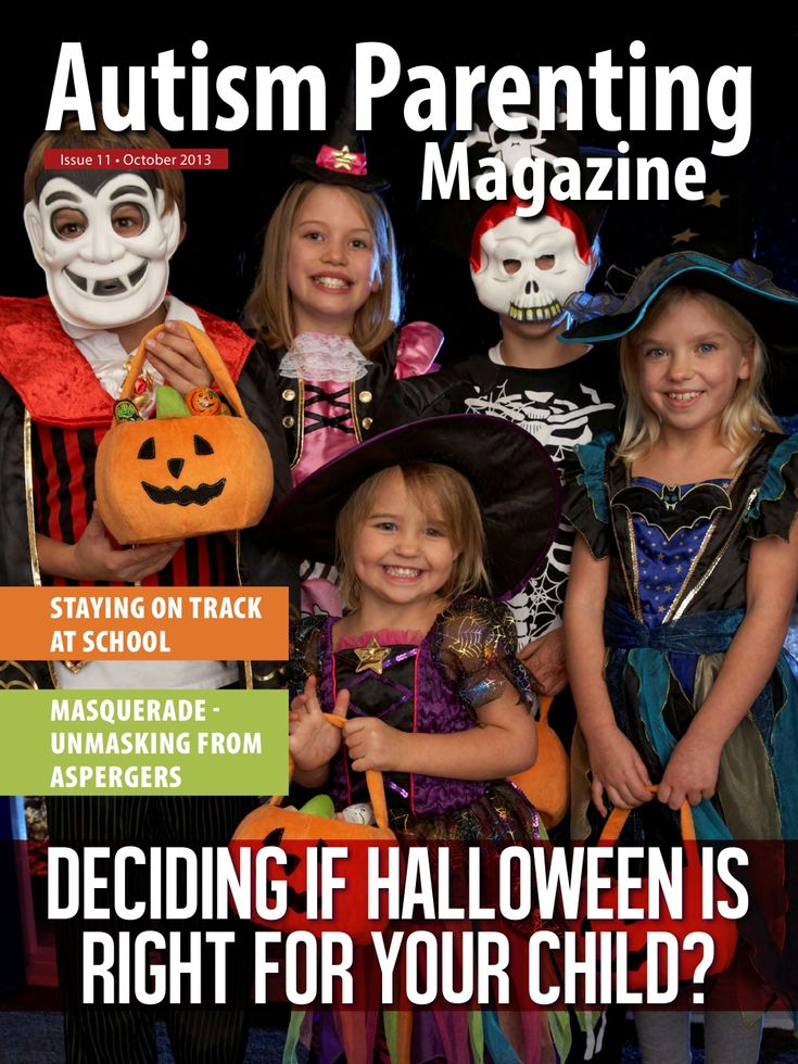 Issue 11 of Autism Parenting is now out. http://www.autismparentingmagazine.com/deciding-halloween-child/#.Uky75lO_ceg