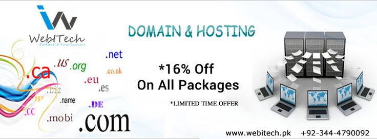 Webitech offering cheap domain name registration and affordable web hosting with best web hosting services.We are providing high quality website hosting to personal and business websites in Pakistan.For Further Information Contact +92-344-4790092