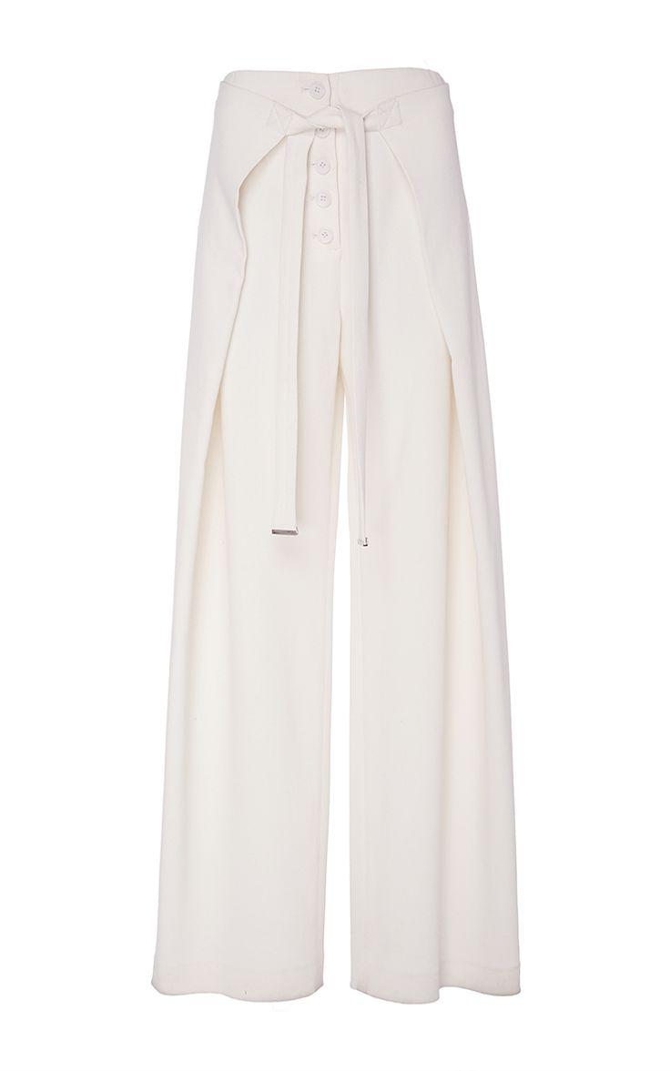 PROENZA SCHOULER Wide Leg Wrap Pants. #proenzaschouler #cloth #pants