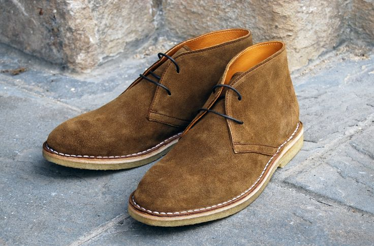 Brand new!!! Our first ever desert boot, this is 'Cordova' in a 'Dark Tan' suede.   http://www.orcabay.co.uk/Pages/NEWMENSSTYLES.aspx  #orcabay #desertboots #boots #suede #shoes #fashion #ss14 #aw14  #mens #footwear #schuhe #kengät