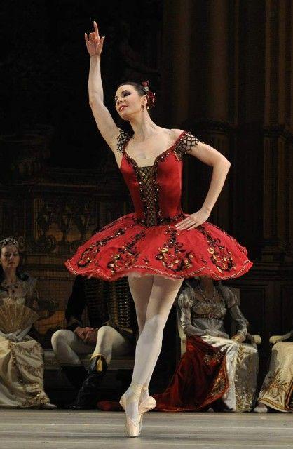 "Maria Alexandrova in ""Paquita"" (Bolshoi Ballet), Moscow, Russia"