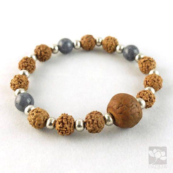 Handmade Rudraksha beads / Bodhi seed bead / Prayer beads