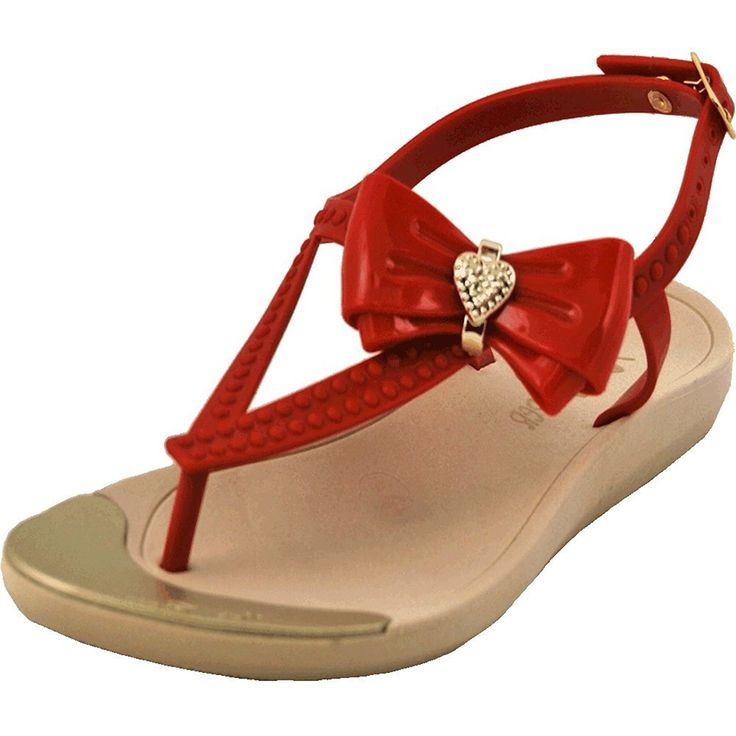 Mary Pepper Women's Jelly Sandal with Bow >>> Insider's special review you can't miss. Read more  : Jelly Sandals