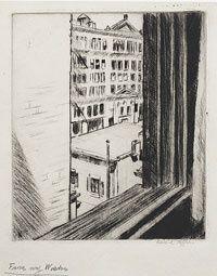 Edward Hopper, From My Window on ArtStack #edward-hopper #art