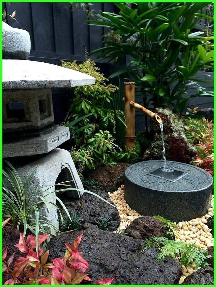 Japanischer Garten Garten Gartengestaltung Brunnen Harmonisch Wasser Stein Brunn Bru Small Japanese Garden Zen Garden Design Japanese Garden