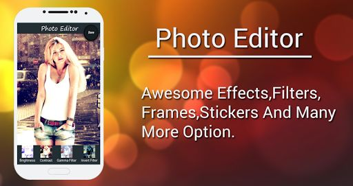 Beauty Time-Photo editor is A very comprehensive photo editing tool and pretty much everything you could ever want to edit on your phone!This will give you the look you want in seconds.<br>Beauty Time Photo editor is a powerful and easy to use image processing app.<br>* Features Of Beauty Time- Photo Editor *<br>- Create fantastic Photo Effects of your photos using:<br>  tint,boost,pencil sketch, sepia,gray scale,fish eye, snow,blur photo effect etc.<br>- Four magnificent photo overlay…
