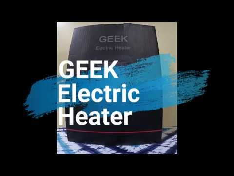 GEEK Electric Heater Review by Mommy Ramblings
