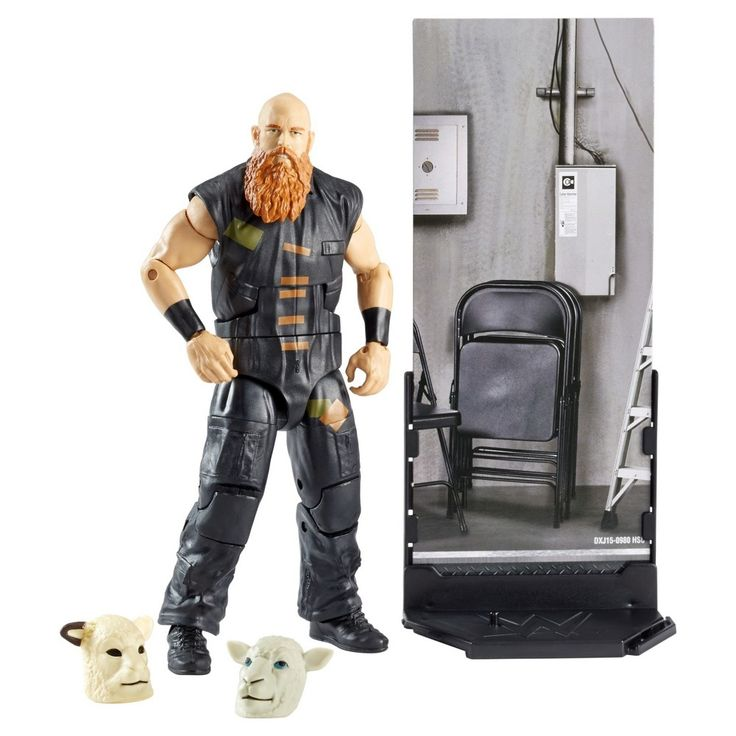 Wwe Elite Collection Erick Rowan Action Figure - Series # 48