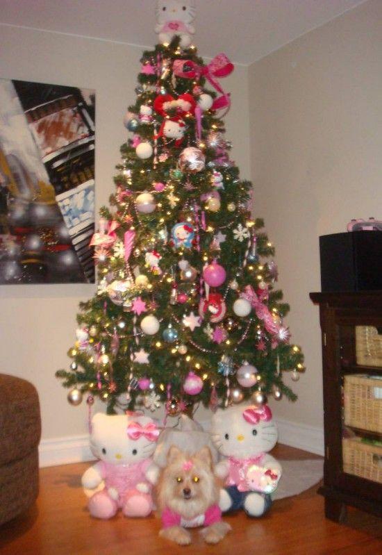 hello kitty christmas tree decorations