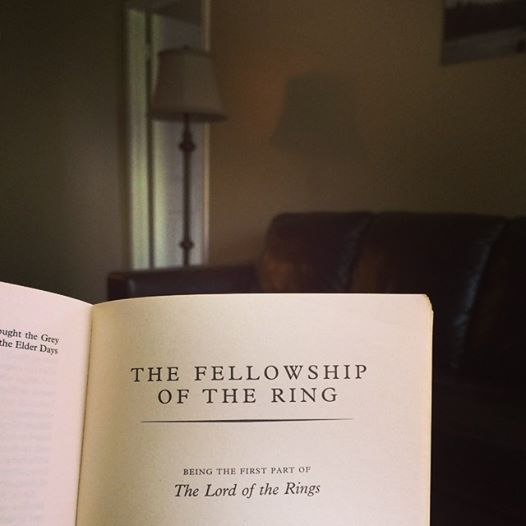The Fellowship Of The Ring - can't believe I started, finished AND liked it! #WIN
