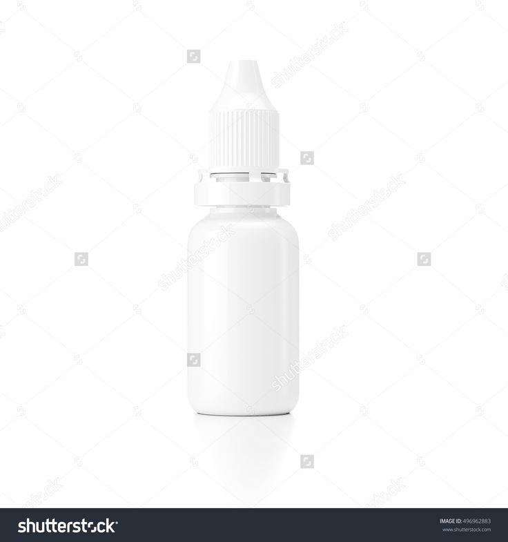 Medical Eyedropper Bottle 3d Rendering Stock Photo 496962883 : Shutterstock