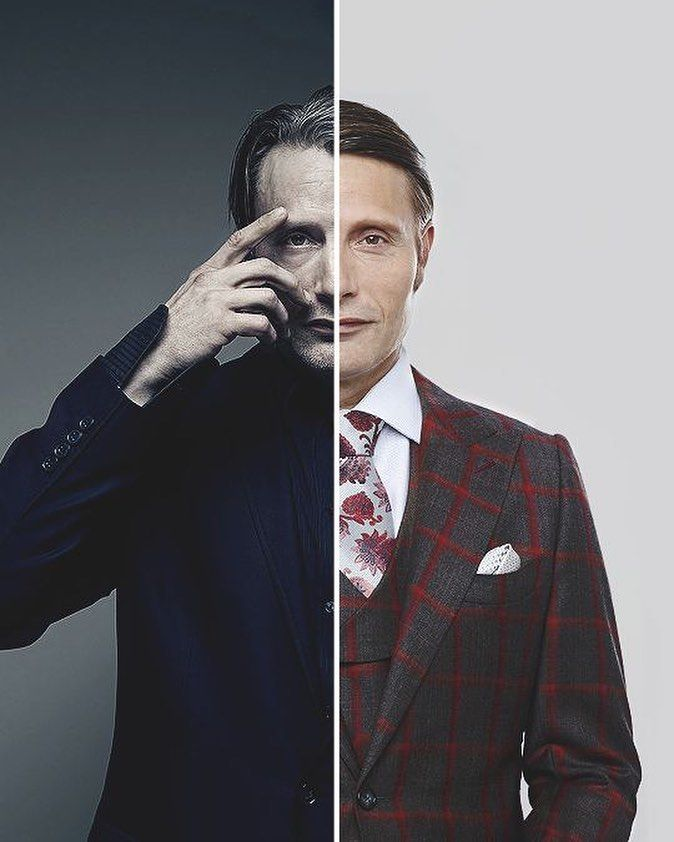 "652 curtidas, 2 comentários - Will Graham & Hannibal Lecter (@identically_different) no Instagram: ""#eattherude #madsmikkelsen #hughdancy #hannibal #willgraham #hanniballecter"""