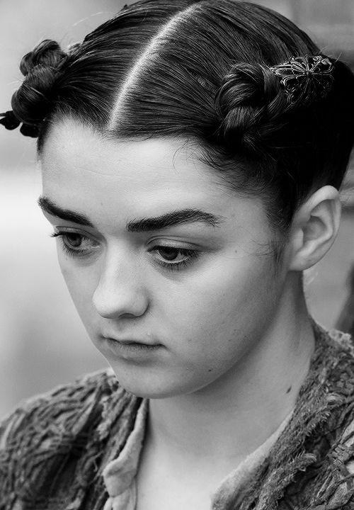 "swordofsnow: Arya/Lana S5E8    AryaStark (Lanna)  Game of Thrones 5.08 ""Hardhome"" {x}"