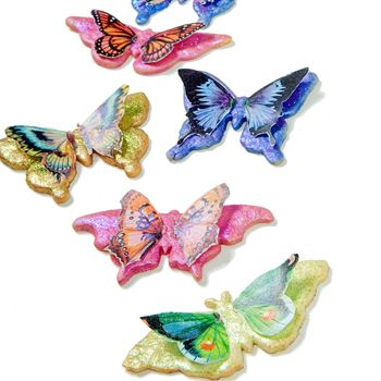 Butterfly Wafer Paper Cookies How-To