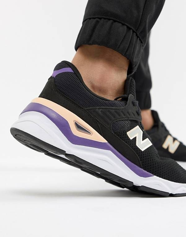 5b42dc593ca56 New Balance X90 Trainers In Black MSX90CRB | autumn winter 2018 in ...