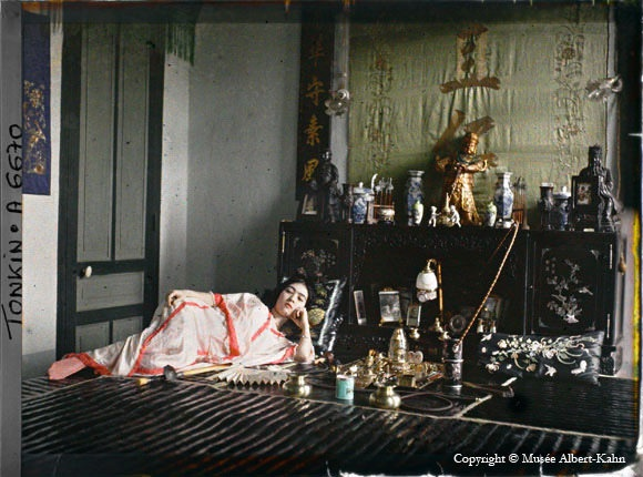 1909 color photography by Albert Kahn