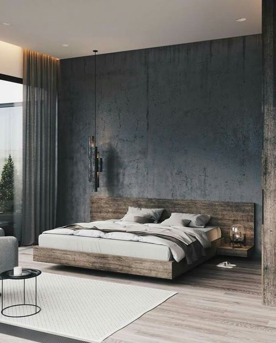 50 Amazing Industrial Master Bedroom Design Ideas