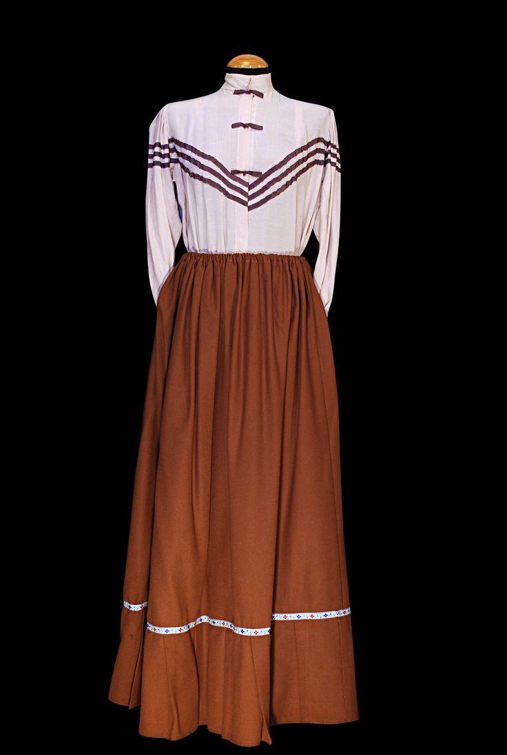 Moda 1900 mujer #vestuario #vintage #1900s