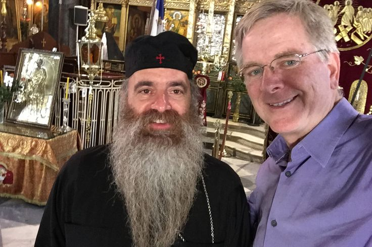 Getting Friendly with Greek Orthodoxy with PBS travel show host Rick Steves.