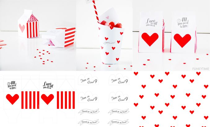 Valentine Treat Boxes | Funkytime