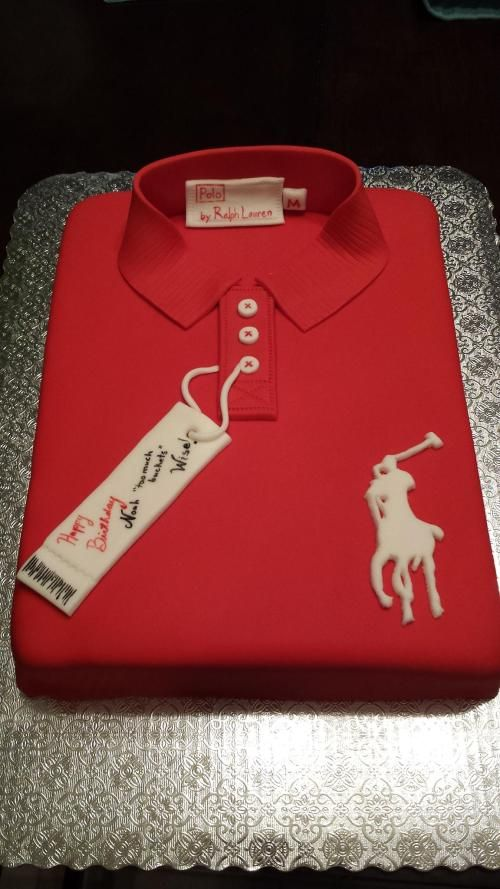 Polo Shirt cake | cake for men