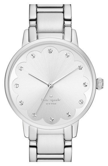 kate spade new york 'gramercy' bracelet watch, 34mm available at #Nordstrom - womens watches sale online, online shopping for womens watches, womens gold watches with diamonds