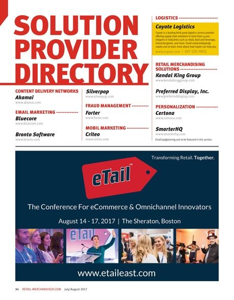 Solution Provider Directory.