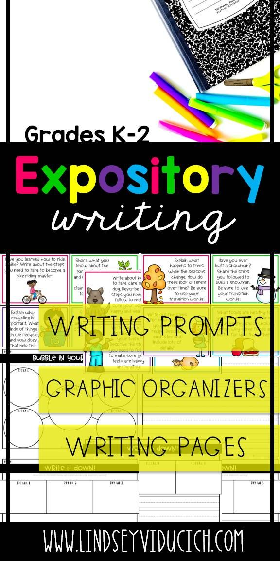 Informative/Expository writing is one of my favorite text types to teach. This packet is full of expository writing prompts, graphic organizers, and differentiated writing paper for your primary students! This is perfect for a center, small group, or whole group lesson with your kindergarten, first grade, or second grade students!