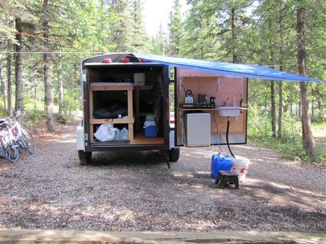 5x8 Enclosed Trailer Camper Conversion Autos Post