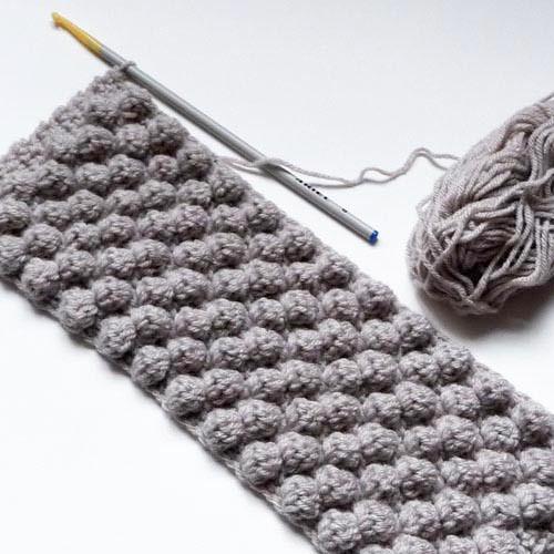 point noisette au crochet