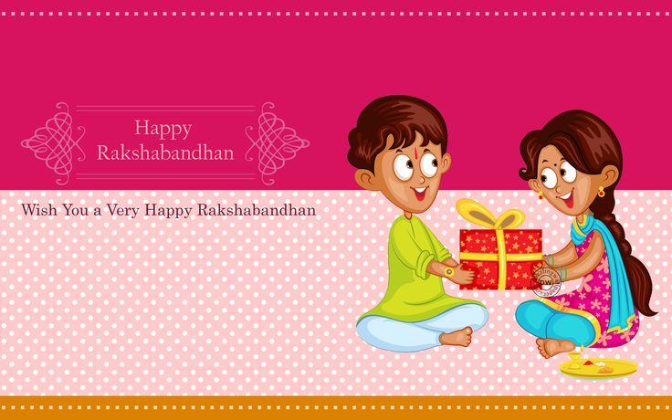 Happy Rakshabandhan Brother Sister Love HD Wallpaper Raksha Bandhan, Brother, Sister, Rakhi, Wallpapers, Wishes, Greetings, Images, Cute, Cartoon, Tied Rakhi, Latest, HD
