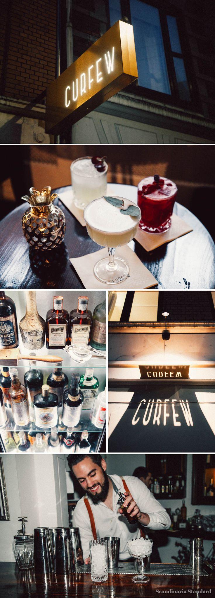 Curfew Cocktail Bar Copenhagen | Scandinavia Standard
