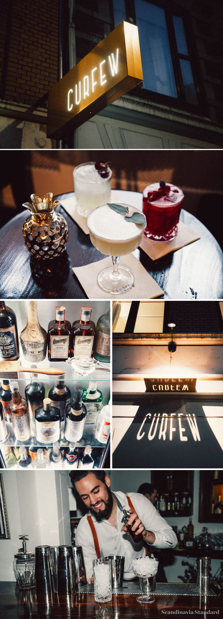 Curfew Cocktail Bar Copenhagen | Scandinavia Standard