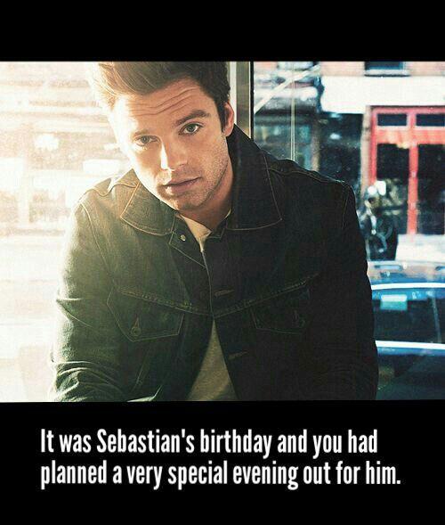 Sebastian Stan/Bucky Barnes Smut - IMAGINE: Happy Birthday To Him
