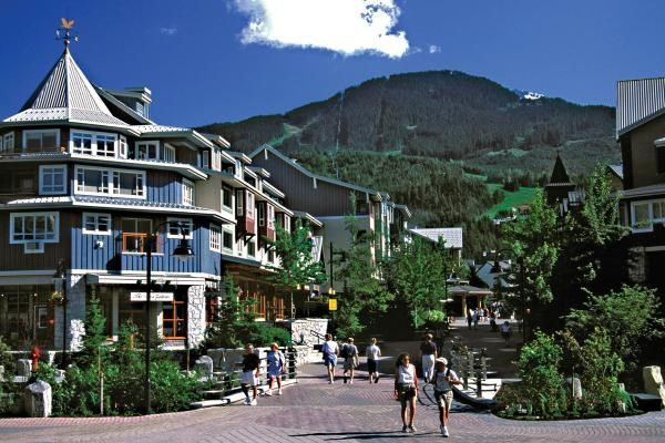 Whistler Village in Summer ...