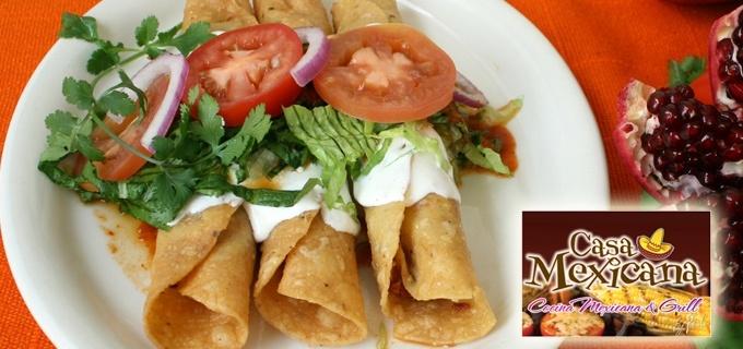 Con los grupones de hoy, disfruta un delicioso Platillo típico mexicano en un ambiente rústico y acogedor como una auténtica casa mexicana.