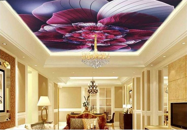 21.94$  Watch now - http://alizt3.shopchina.info/1/go.php?t=32799016602 - custom modern ceiling wallpaper 3d ceiling wall papers home decor living room Roses 3d photos ceiling hd wallpaper  #magazine