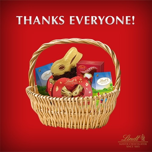 21 best lindt easter hamper images on pinterest goodies chanel thanks to everyone for your entries the competition is now closed we will be negle Image collections