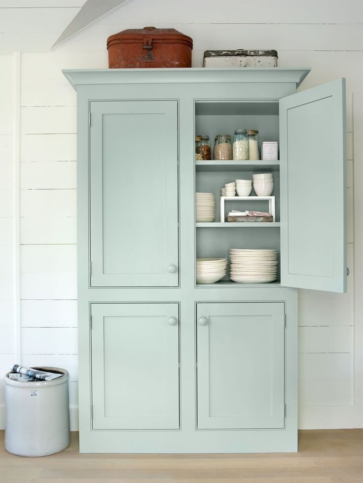 Mint armoire - dining room