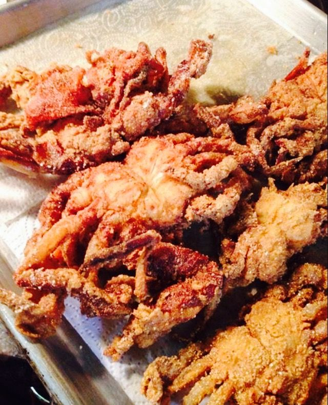 Soft Shell Crabs: Sheryl In The Kitchen